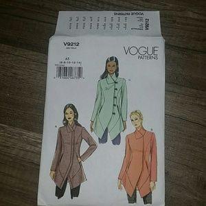 Vogue pattern V9212 (Size 6-14)